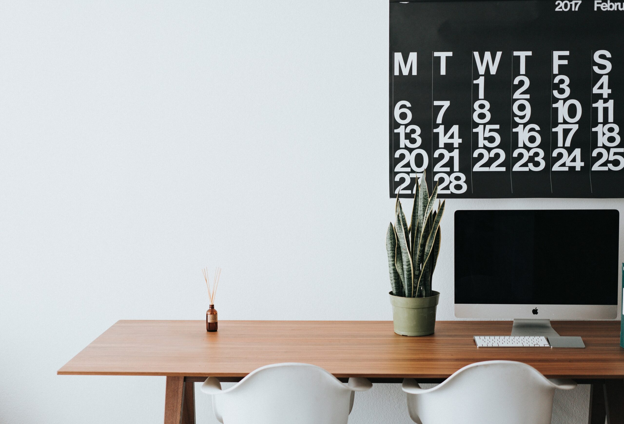 Desk and Wall Calendar