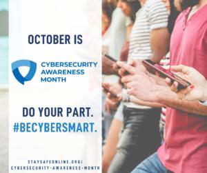 CAM 2021: Week 1 - Be Cyber Smart!