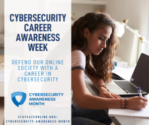 CAM 2021: Week 3 - Careers and Training in Cybersecurity